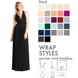 Dresses & Skirts - Black Two Birds Bridesmaid Dress